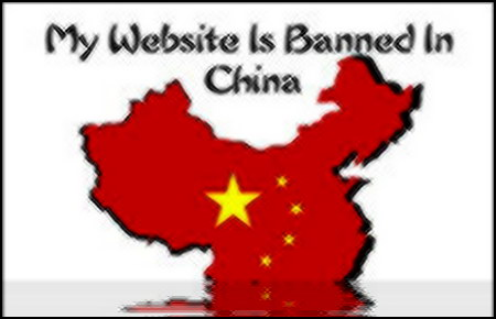 Website banned in China