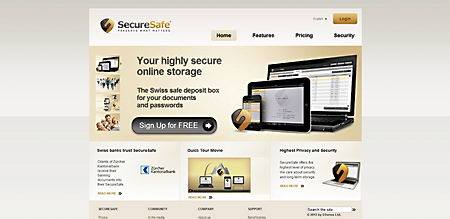 SecureSafe online legacy services