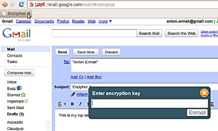 Encipher.it webmail encryption