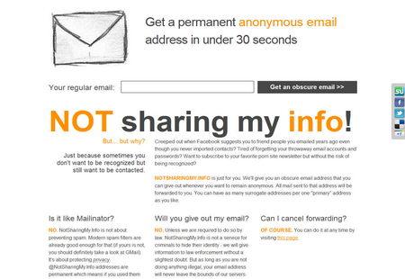 NotSharingMyInfo DEA address