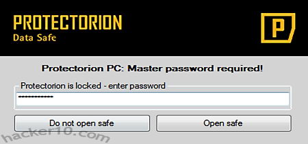 Freeware encryption ProtectOrion