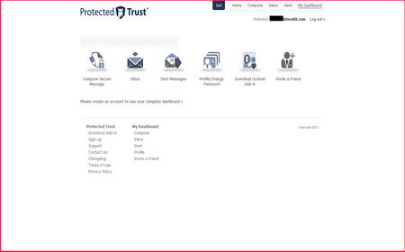 Protected Trust email HIPAA compliant