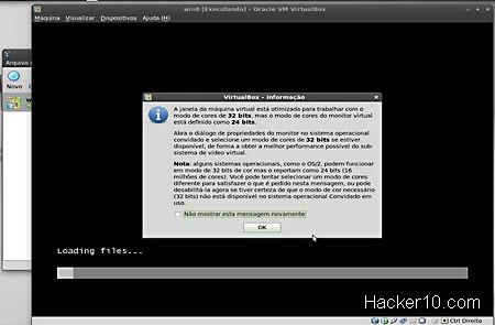 VirtualBox setting up Whonix operating system