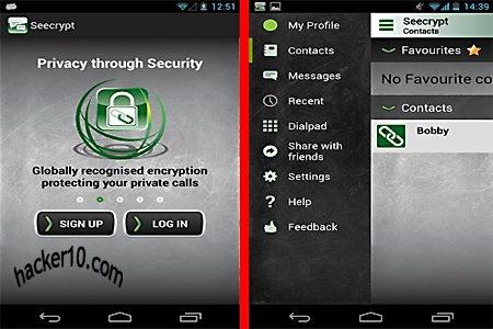Encrypted mobile phone calls SeeCrypt