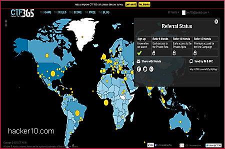 Learn cyberwar skills online playing CTF365 | Hacker 10