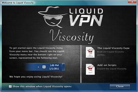 LiquidVPN Viscosity OpenVPN client