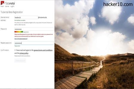 Encryped webmail Tutanota