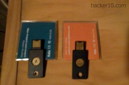 Yubikey Edge and Yubikey Nano with NFC
